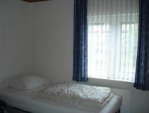 Slaapkamer met 2x 1 persoonsbed
