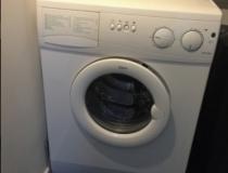Wasmachine boven