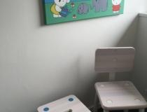 Slaapkamer met 1x 1 persoons bed