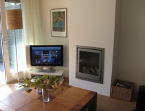 Grote led-televisie